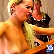 Sarah has disobeyed the rules yet again and is called into the headmistress` office for a whipping