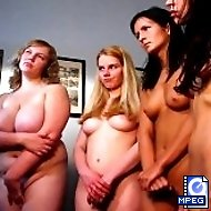 4 Sweeties are disciplined brutally with the cane on their naked asses