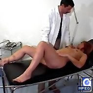 Medical room OTK spankings and humiliation for a hot blonde