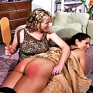 Birthday Girl gets a nice spanking